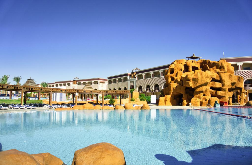 территория отеля Sentido Mamlouk Palace Resort