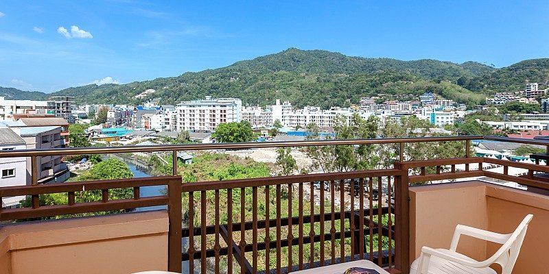 терраса отеля Blue Ocean Resort