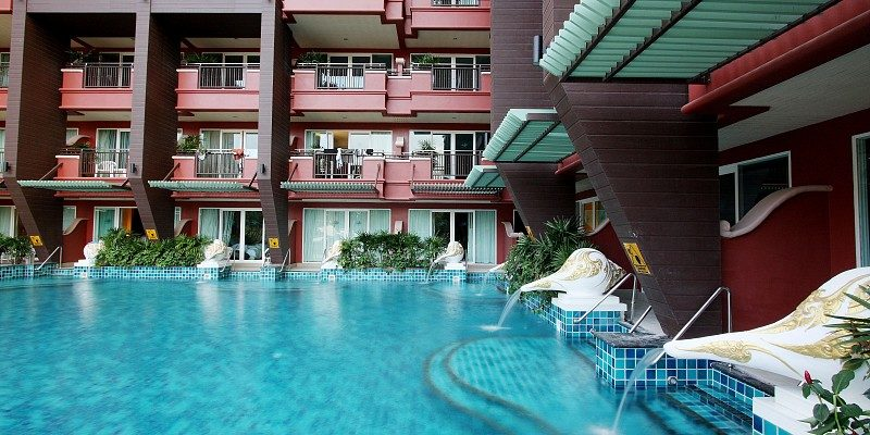 бассейн отеля Blue Ocean Resort