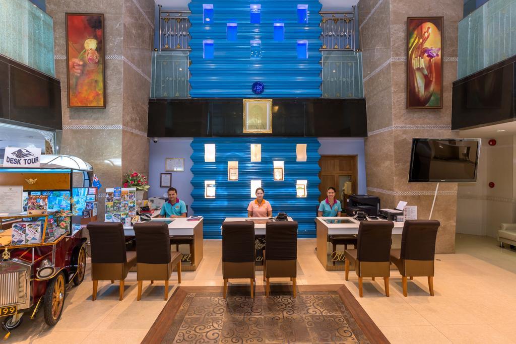 ресепшн отеля Blue Ocean Resort