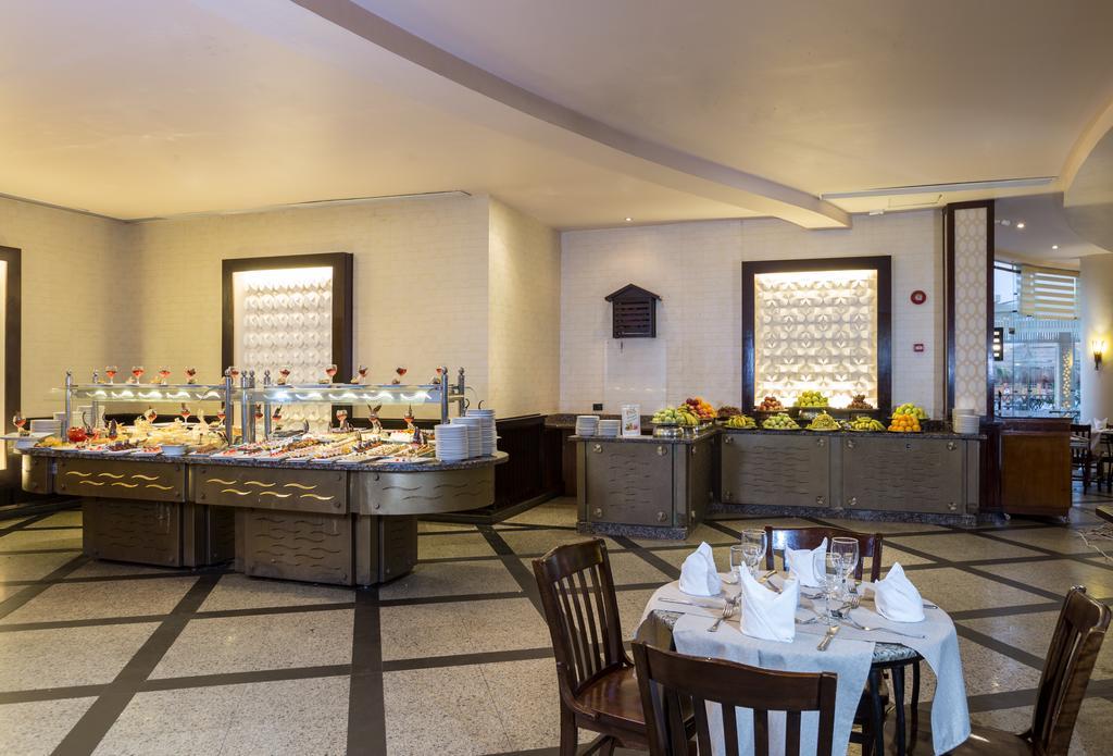 ресторан отеля lbatros Aqua Blu Resort Sharm El Sheikh