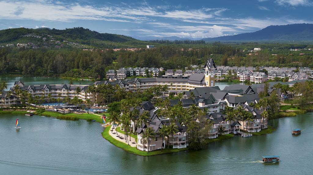 территория отеля Angsana Laguna Phuket (Ex. Sheraton Grande Laguna)