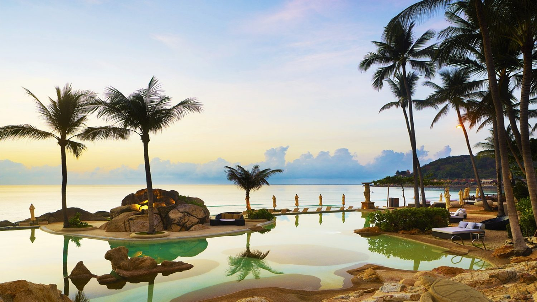 территория отеля Sheraton Samui Resort (ex. Imperial Samui Beach)