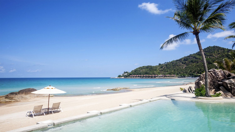 пляж отеля Sheraton Samui Resort (ex. Imperial Samui Beach)