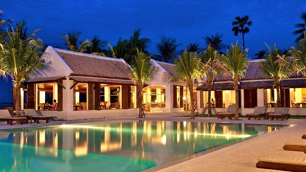 территория отеля Samui Palm Beach Resort