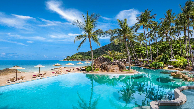 бассейн отеля Sheraton Samui Resort (ex. Imperial Samui Beach)