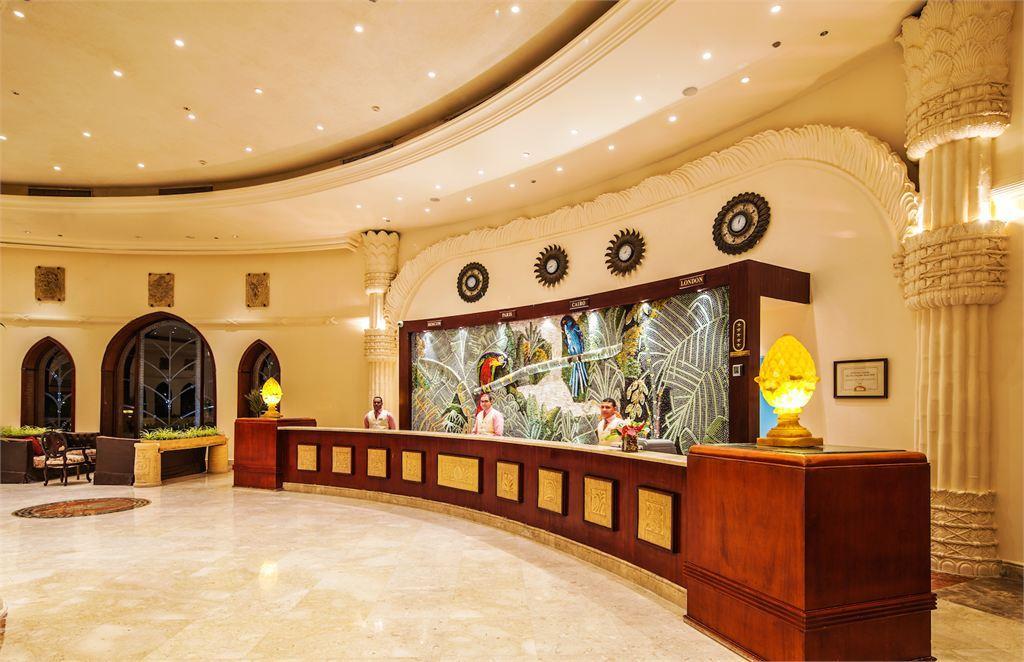 ресепшн отеля Caribbean World Resort Soma Bay