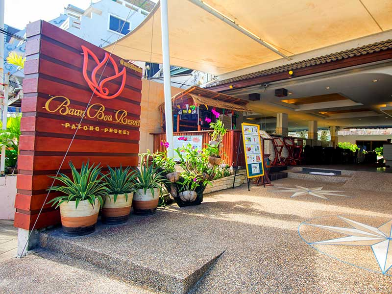 территория отеля Baan Boa Resort