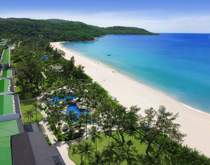 пляж отеля Katathani Phuket Beach Resort