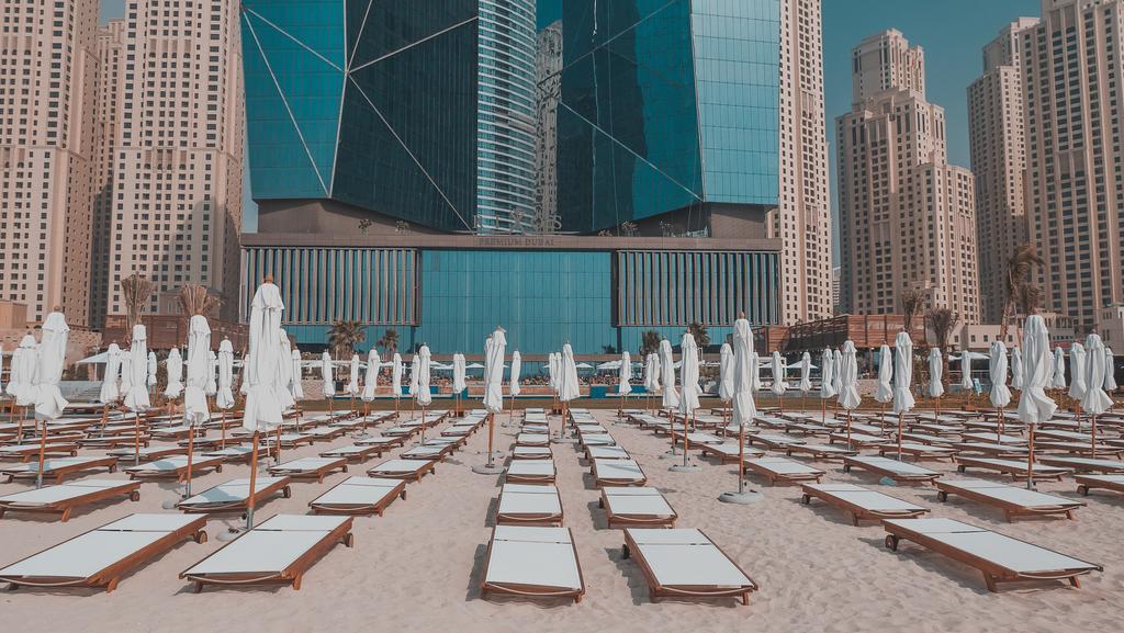 пляж отеля Rixos Premium Dubai