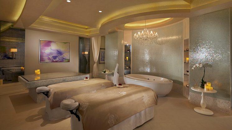 спа отеля Waldorf Astoria Dubai Palm Jumeirah