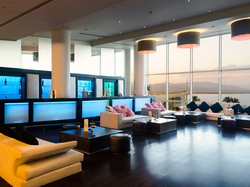 лобби отеля Barcelo Tiran Sharm
