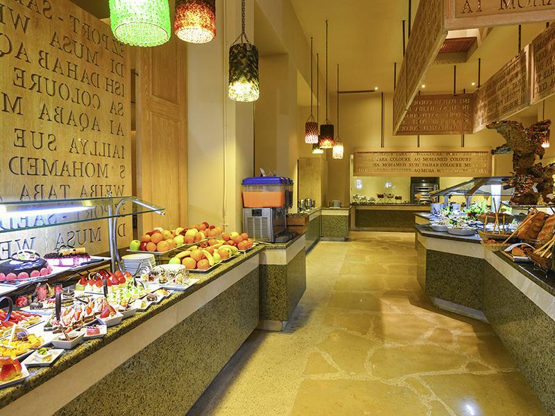 ресторан отеля Novotel Sharm El Sheikh Beach