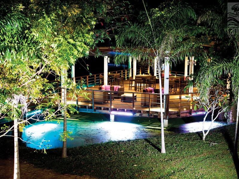 территория отеля Portofino Resort Tangalle
