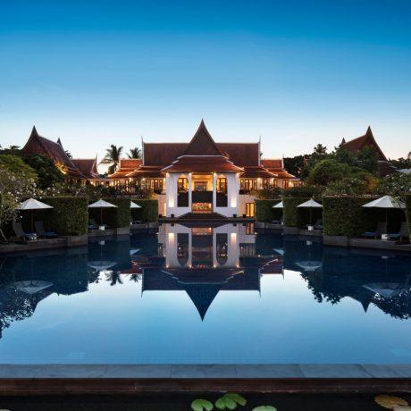 корпус отеля JW Marriott Khao Lak