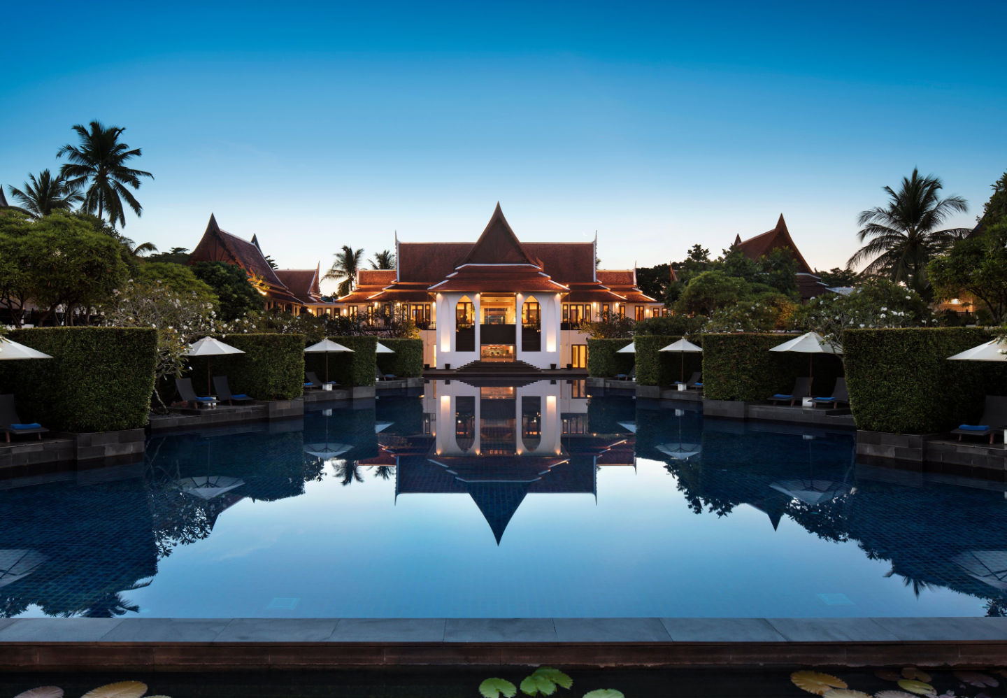 корпус отеля JW Marriott Khao Lak