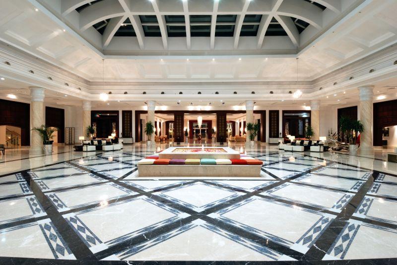 холл отеля Premier Le Reve Hotel & Spa