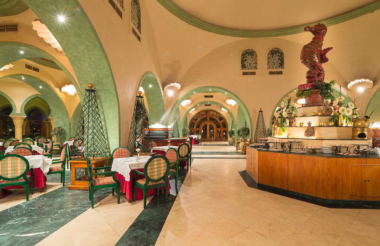 ресторан отеля The Grand Resort Hurghada
