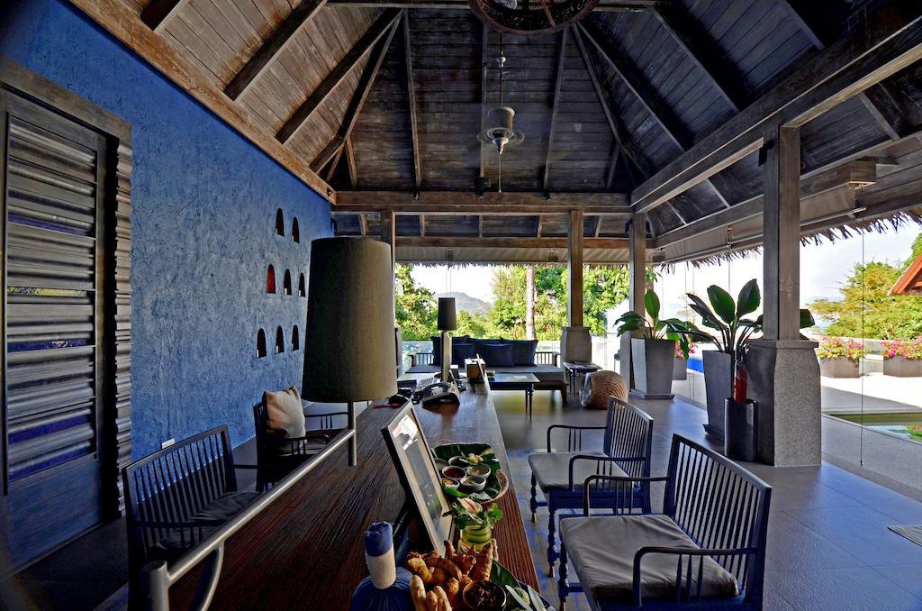 лобби отеля Sri Panwa Phuket