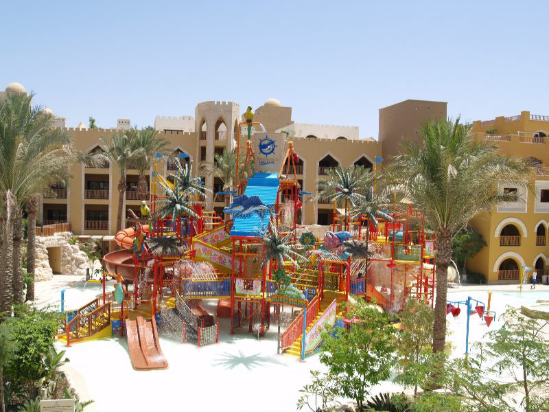 аквапарк отеля Sunwing Waterworld Makadi