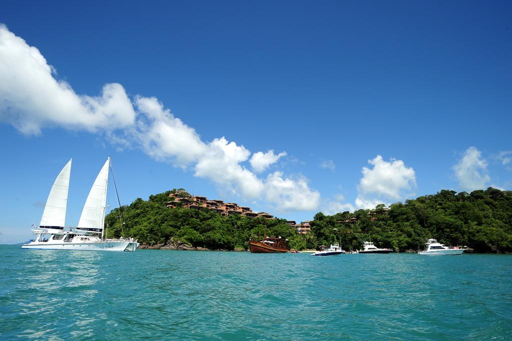море отеля Sri Panwa Phuket