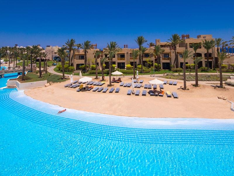 лагуна отеля Port Ghalib Resort