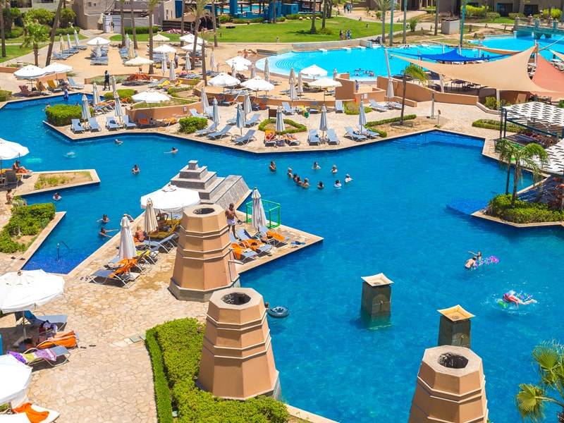 бассейн отеля Port Ghalib Resort
