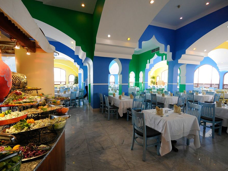 ресторан отеля Domina Coral Bay Aquamarine Hotel & Resort