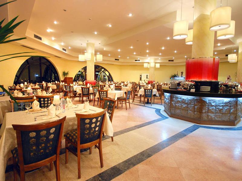 ресторан отеля Nubian Village