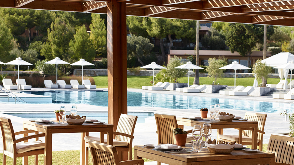бассейн отеля Grecotel Cape Sounio