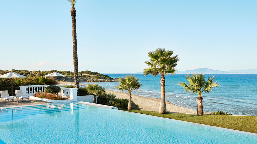 бассейн отеля Grecotel Mandola Rosa & Aqua Park