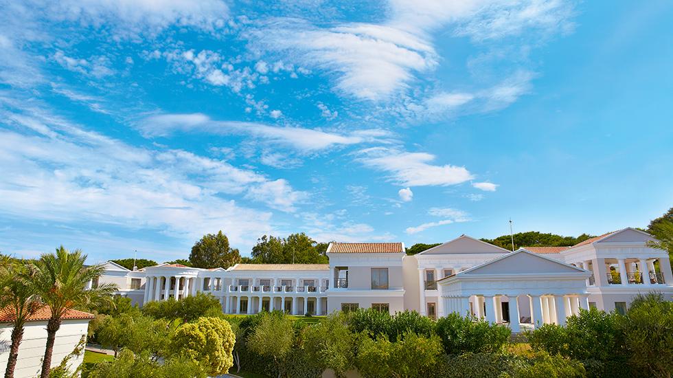 корпус отеля Grecotel Olympia Riviera & Aqua Park
