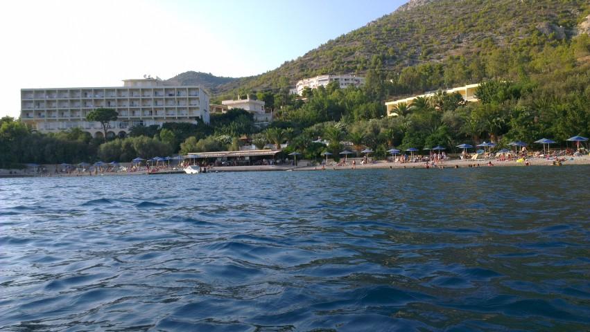 море отеля Pappas