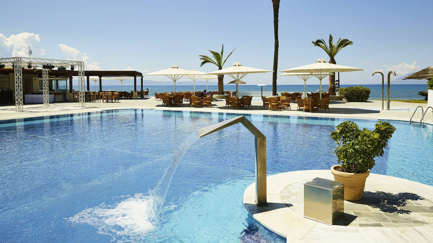 бассейн отеля Robinson Club Kyllini Beach