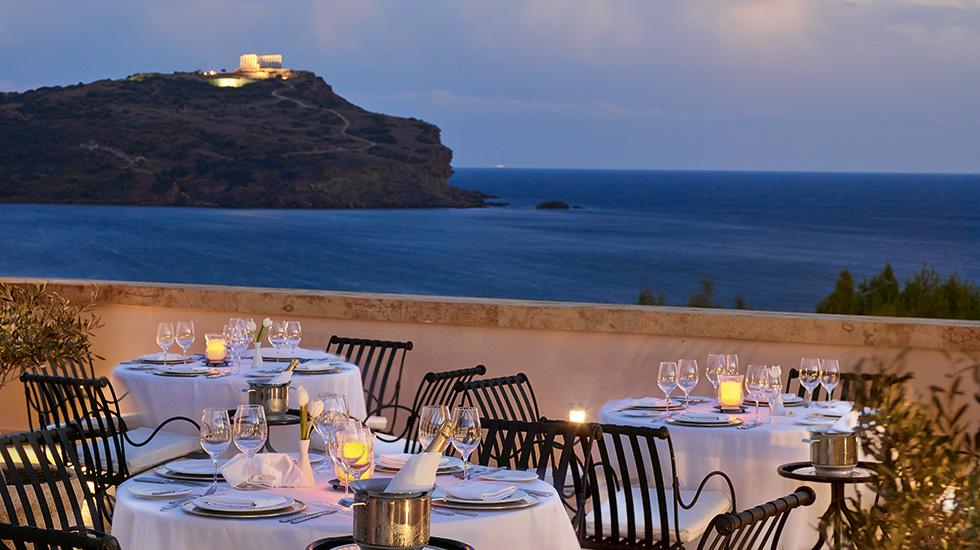 ресторанотеля Grecotel Cape Sounio