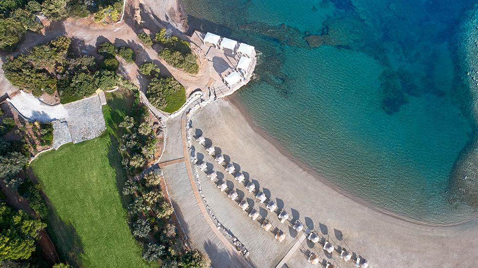 пляж отеля Grecotel Cape Sounio