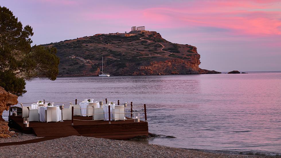 ресторан отеля Grecotel Cape Sounio