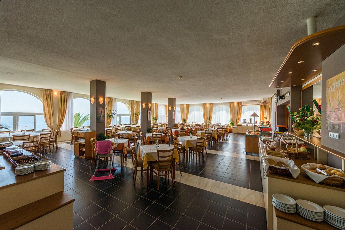 ресторан отеля Pavlina