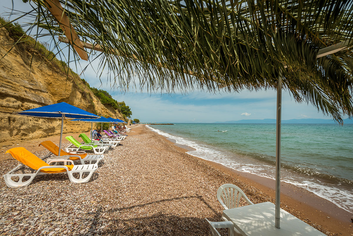 пляж отеля Pavlina
