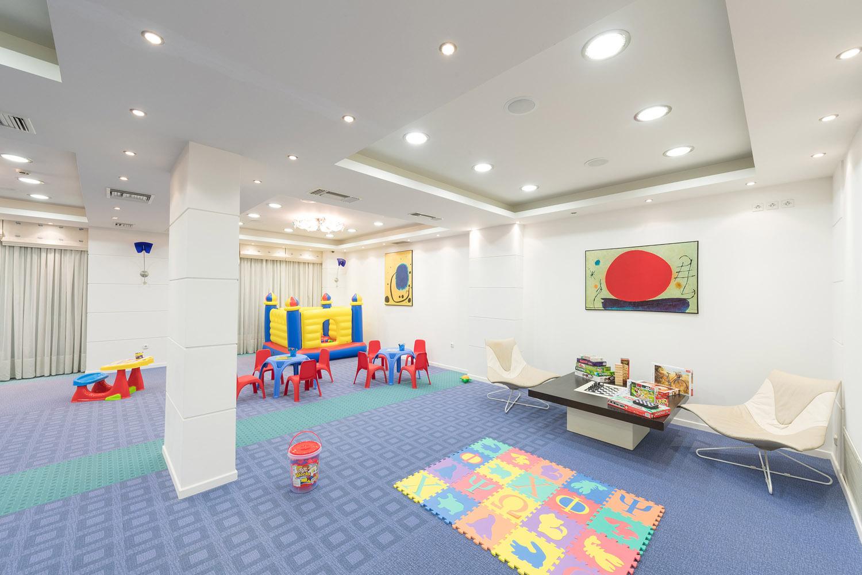 детская площадка отеля Poseidon Palace