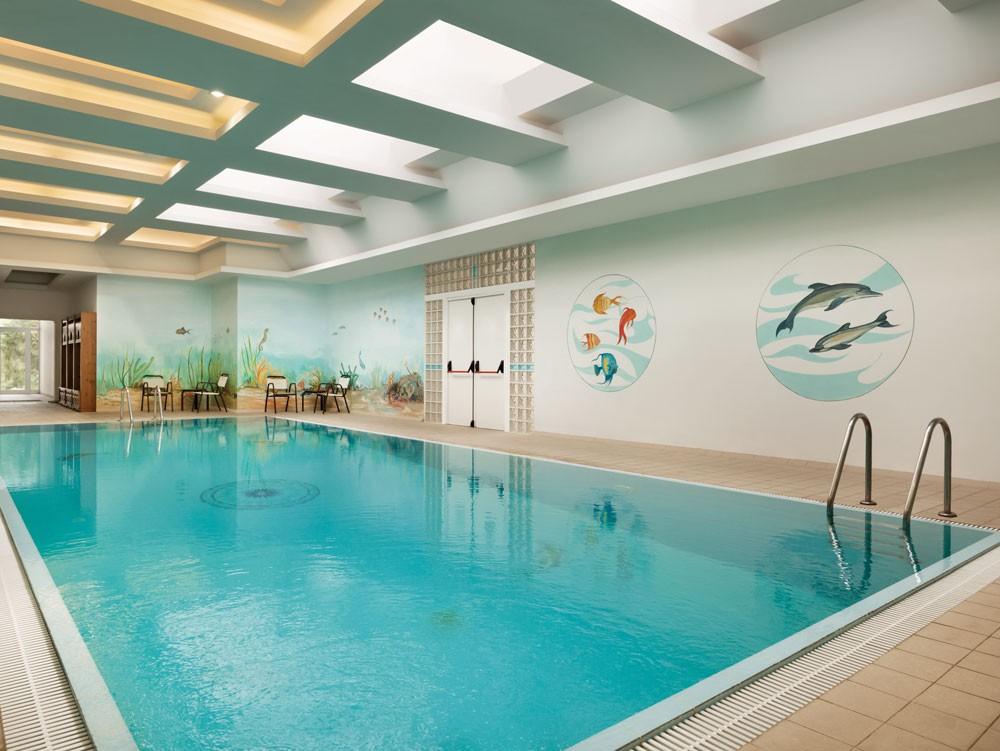 бассейн отеля Wyndham Loutraki Poseidon Resort