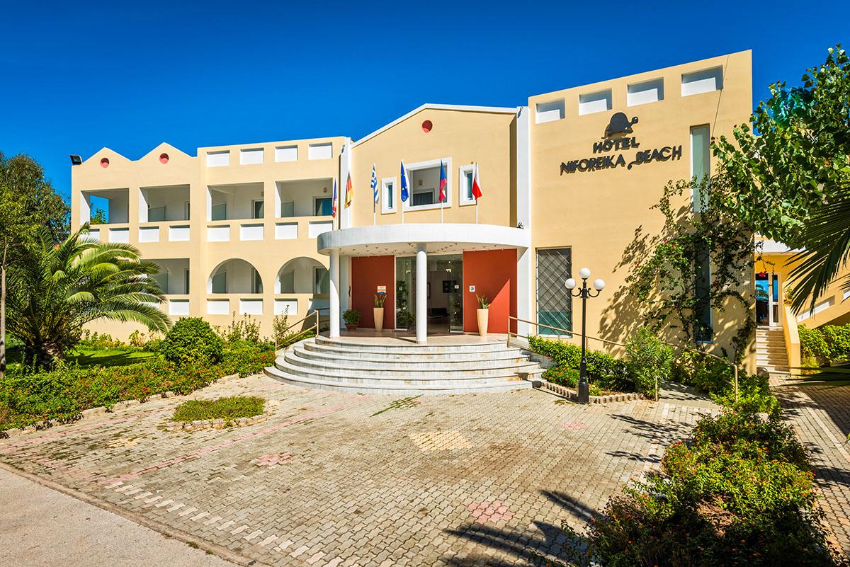 отель Niforeika Beach Hotel & Bungalows