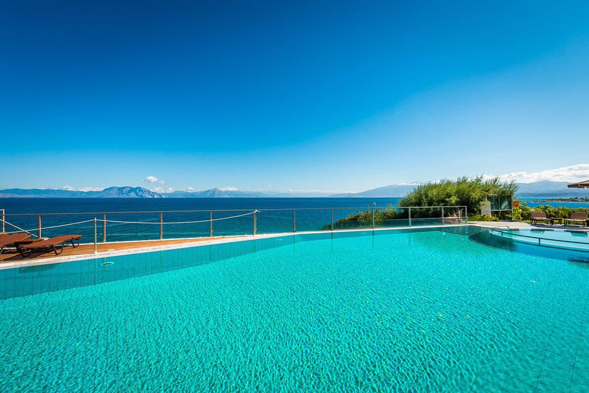 бассейнотеля Niforeika Beach Hotel & Bungalows
