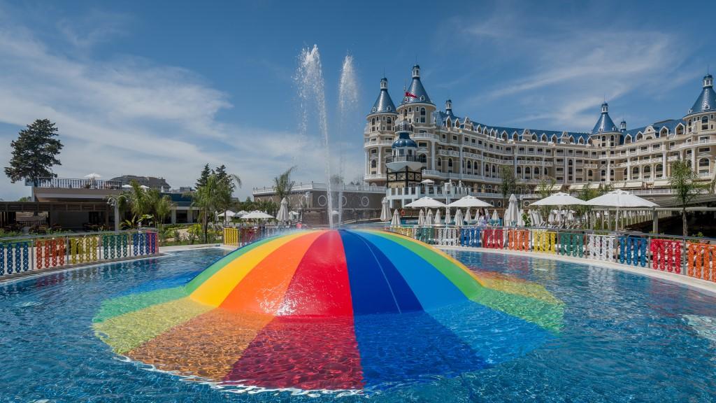 детский бассейн отеля Haydarpasha Palace Hotel