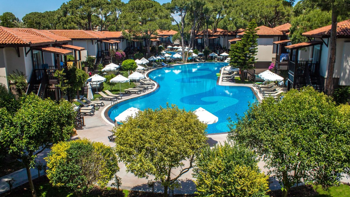 бассейн отеля Papillon Ayscha Hotels Resort & Spa