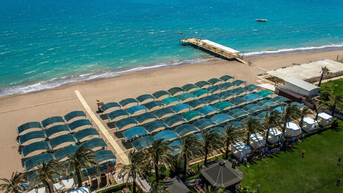 пляж отеля Papillon Ayscha Hotels Resort & Spa