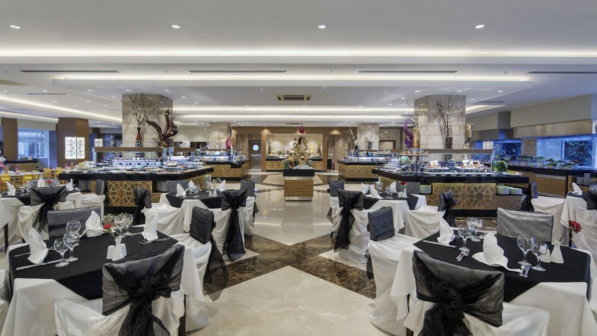 ресторан отеля Papillon Ayscha Hotels Resort & Spa