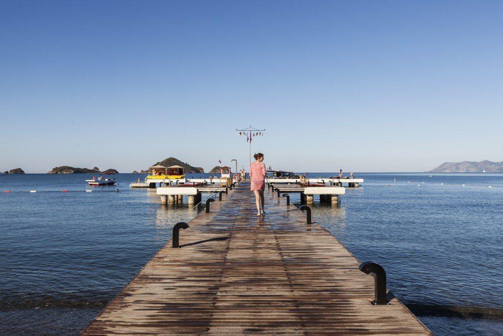пляж отеля Club Tuana
