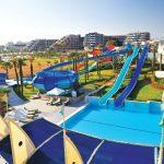 водные горки отеля Susesi Luxury Resort