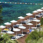 пляж отеля Alkoclar Adakule Hotel